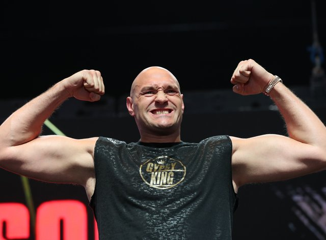 Fury and Joshua both currently hold versions of the world heavyweight title
