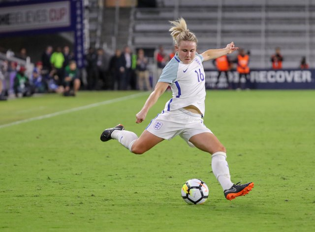 Christiansen has been capped 31 times by the Lionesses