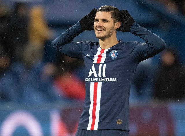 Icardi has moved permanently from Inter Milan to PSG after a season on loan at the Ligue 1 champions