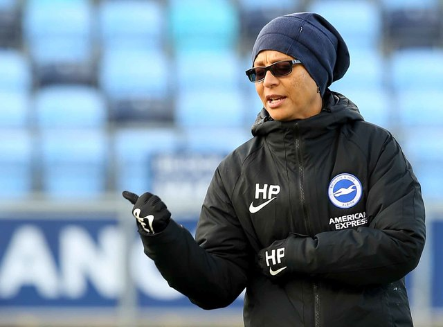 <p>Hope Powell's club haven't had a good start to the season</p>