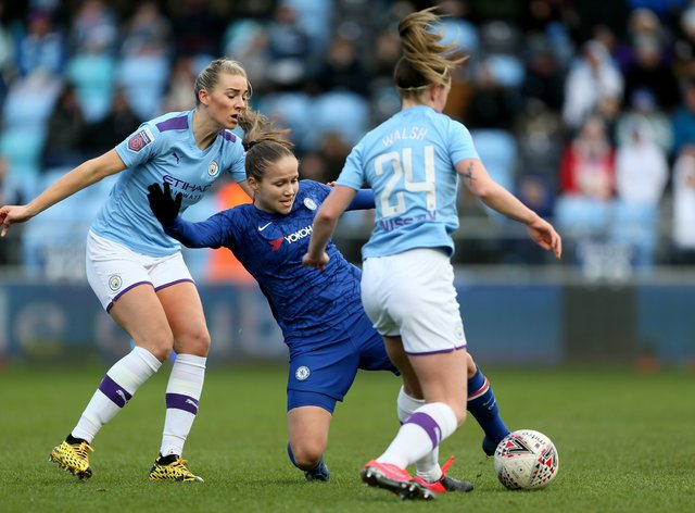 The Women's Super League was terminated on May 25, but the Premier League restarts in two weeks