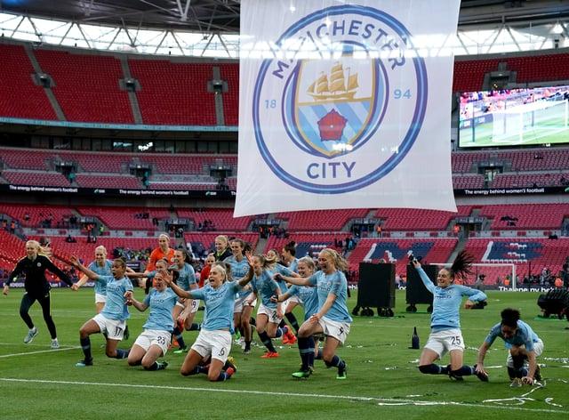 Man City won the FA Cup last season