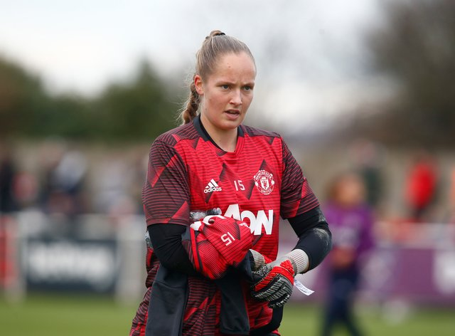 Mikalsen is leaving United this month at the end of her contract