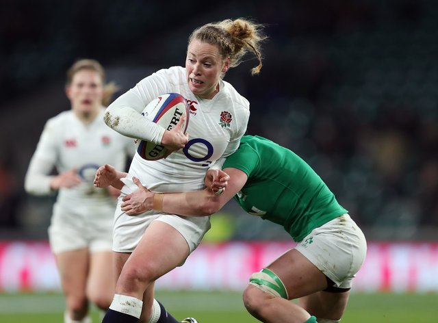 Amber Reed has 57 caps for England