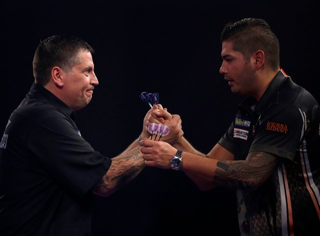 Gary Anderson and Jelle Klaasen made the final