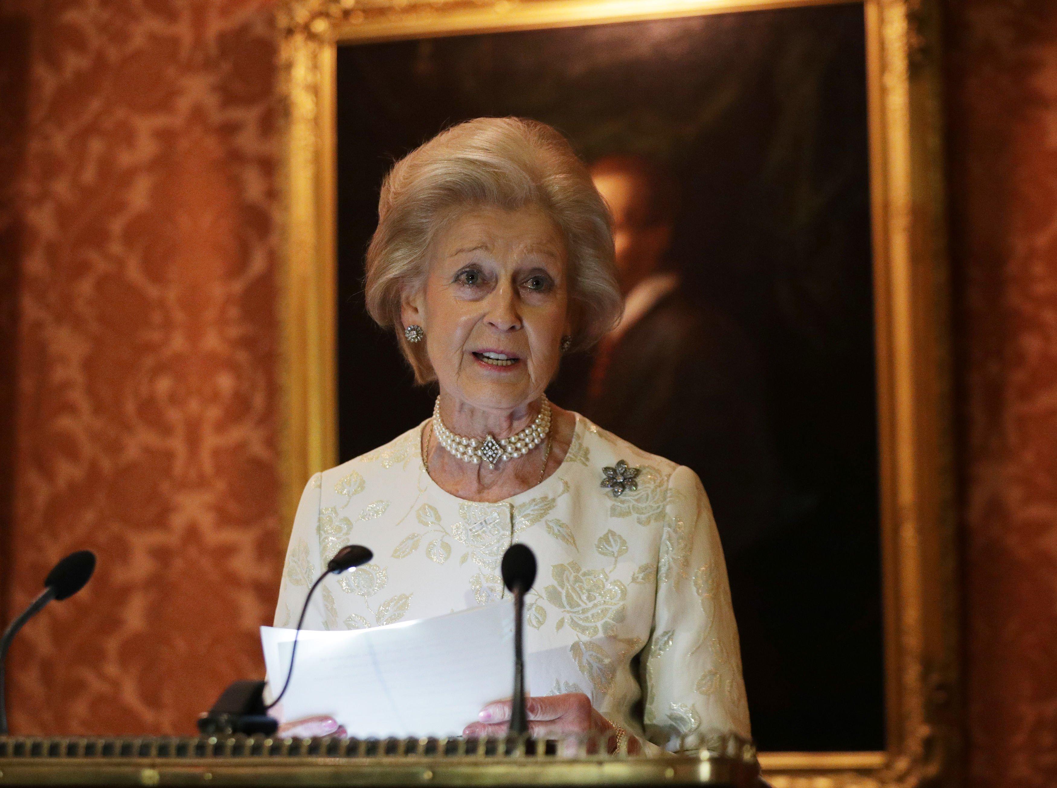 Princess Alexandra praises strength of Cornwall's community amid fears for its economy