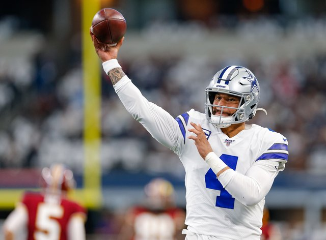 Dak Prescott has pledged $1m to improve police training