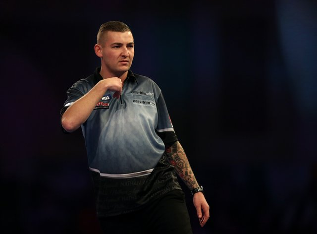 Nathan Aspinall reached the PDC Home Tour championship group