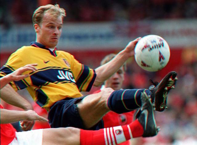 Arsenal great Dennis Bergkamp