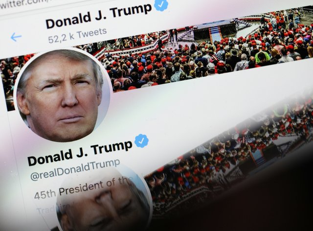 Trump's campaign accused Twitter of censoring him after the tribute to Floyd was taken down