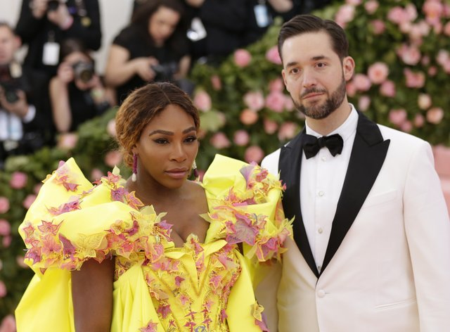 Alexis has been married to Serena Williams since 2017