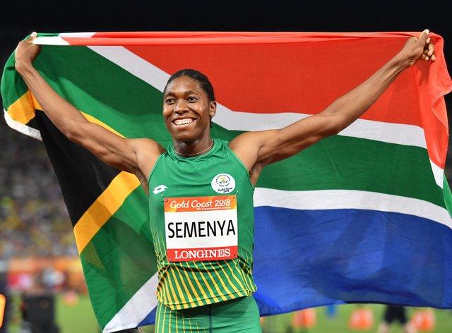 The South African is a double Olympic champion but perhaps now also a parent to a girl