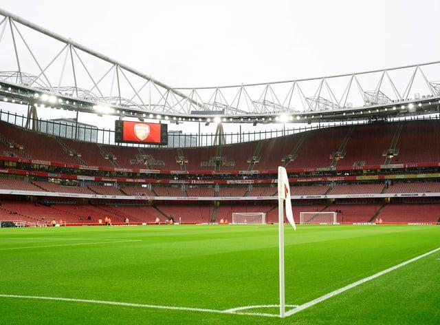 Arsenal took on Charlton at the Emirates