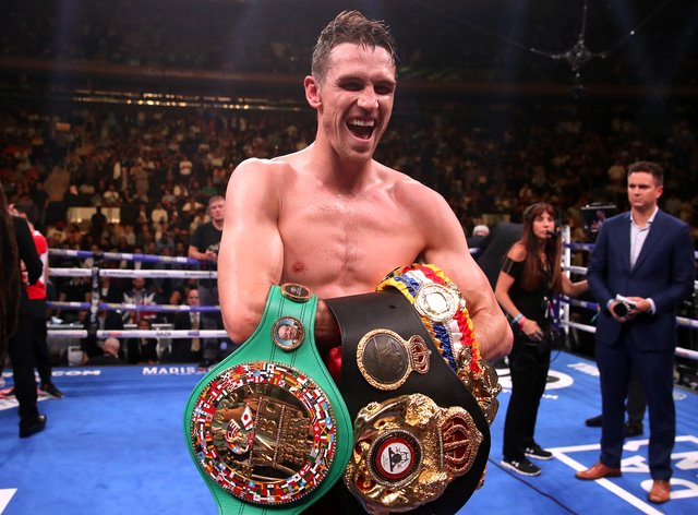 Callum Smith is the WBA 'Super' super-middleweight champion and holder of the Ring Magazine belt (Nick Potts/PA)