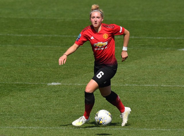 Aimee Palmer will leave United this month