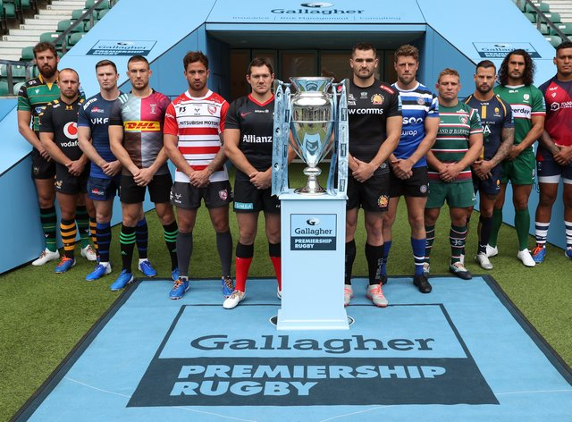 Gallagher Premiership Launch – Twickenham