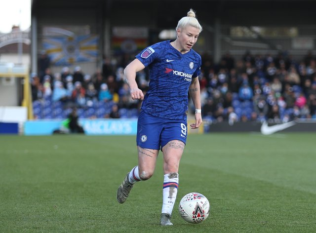 Beth England spent a year on loan at Liverpool, where she top-scored