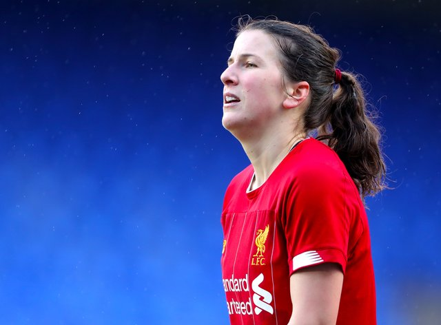 Niamh Fahey is determined to get back into the WSL