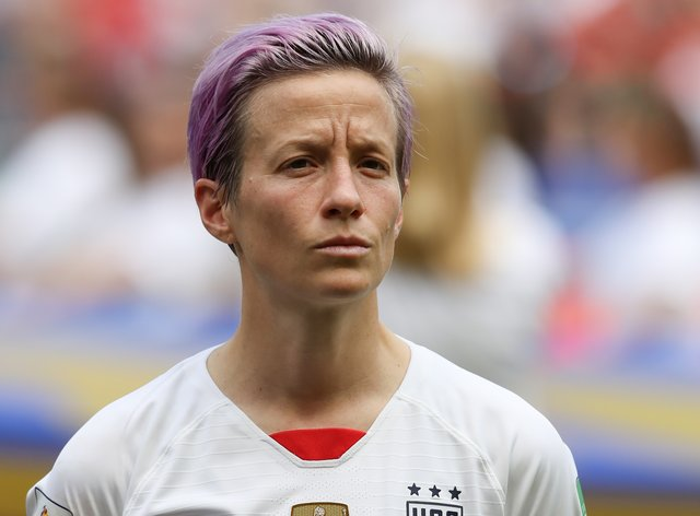 Rapinoe has said we all are responsible for making the world a better place