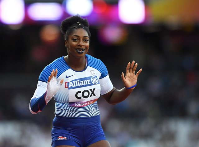 Kadeena Cox says she tries to educate her team-mates about racism