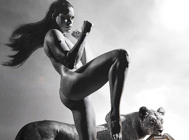 Amanda Nunes has sent fans into meltdown after sharing an updated picture from her 2019 ESPN shoot