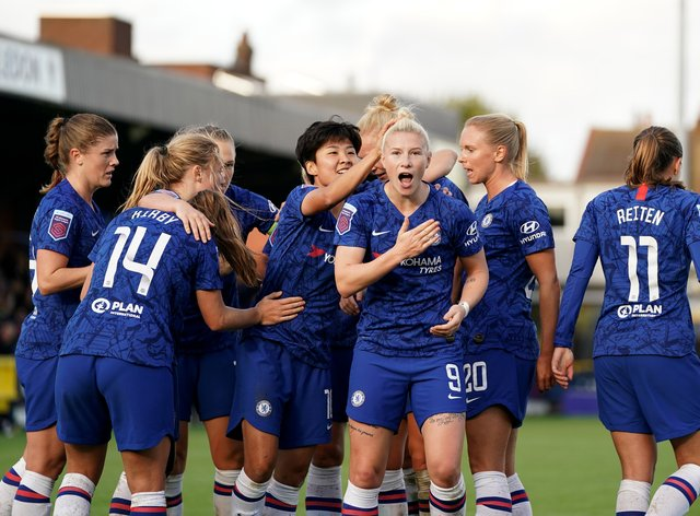 Chelsea were announced WSL champions last Friday
