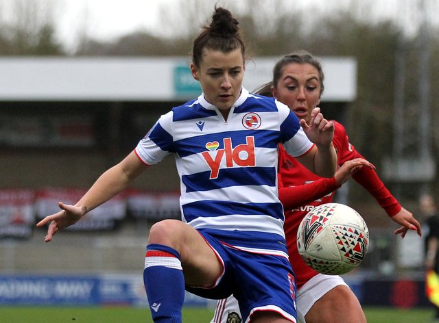 James will be playing at Reading next season - unlike eight of her former team-mates