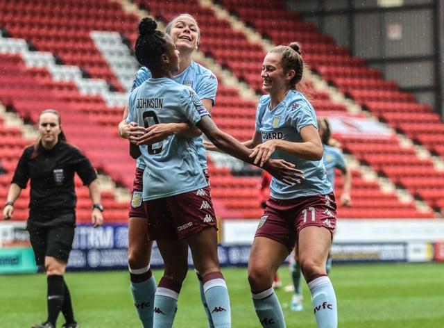 Aston Villa Women will be celebrating in a new stadium when the season begins