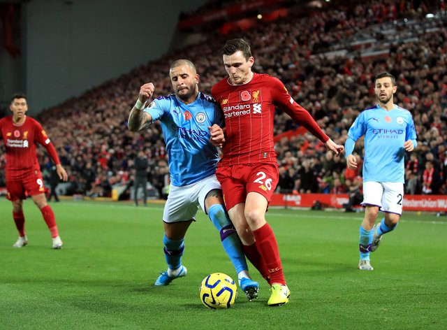 Liverpool are set to take Manchester City's Premier League crown