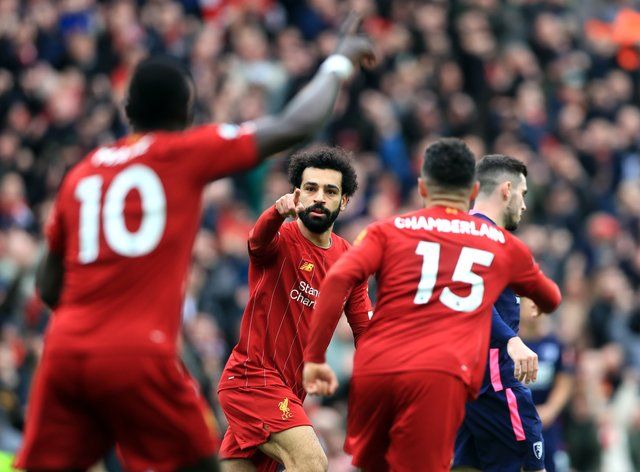 Liverpool are romping to the Premier League title