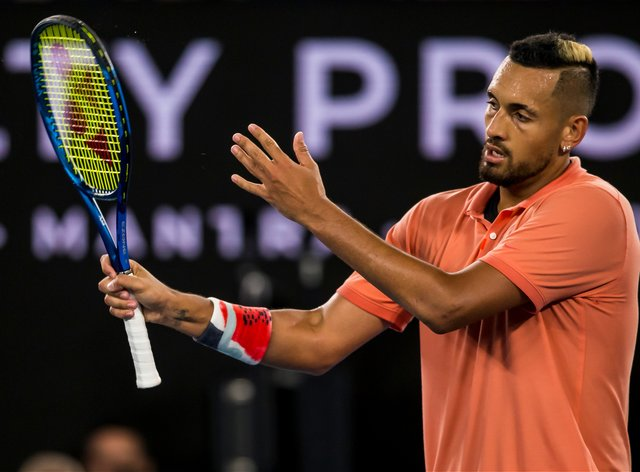 Kyrgios made his opinions on the US Open heard