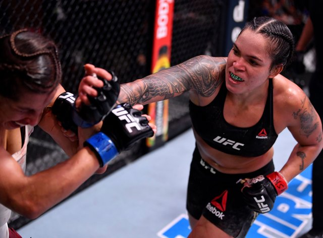 Nunes is a two-weight champion in the UFC
