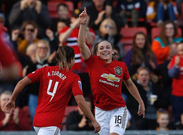 Hanson has extended her contract with the Red Devils to the end of next season