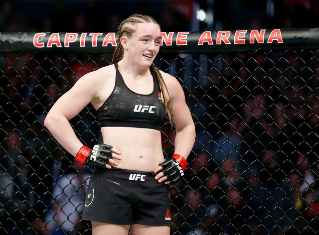 Aspen Ladd has pulled out of a UFC event in LA next weekend