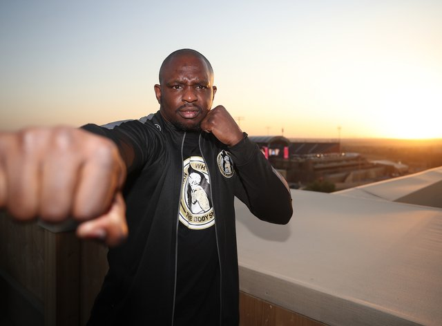 Whyte has been made to wait for his world title shot after becoming number one in the WBC's rankings