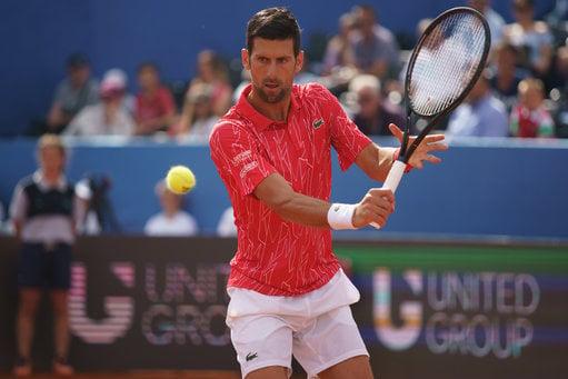 Novak Djokovic has tested positive for coronavirus