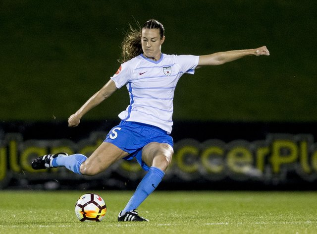 Naughton played for Chicago Red Stars last season and hasn't yet taken to the field with Dash