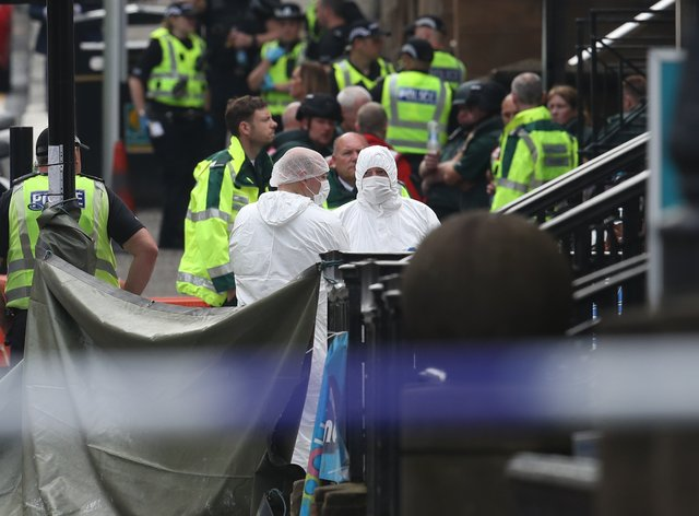 Incident in Glasgow