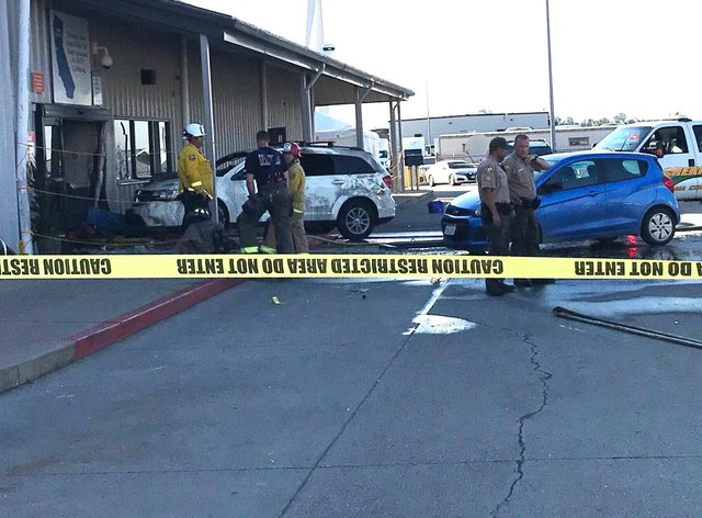 The Northern Caliifornia distribution centre where a gunman went on rampage killing two people