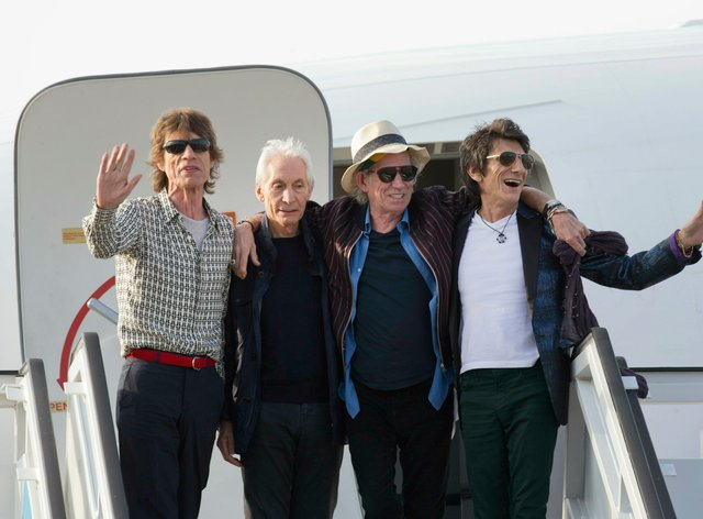 The Rolling Stones have not authorised use of their music at Trump rallies
