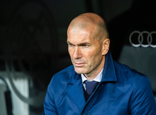 Zidane re-joined Real Madrid for his second spell as manager in March 2019