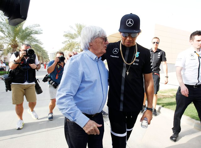 Hamilton criticised Ecclestone for his comments about black people