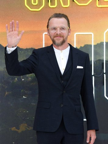 Simon Pegg wants to help make a change in the television and film industry