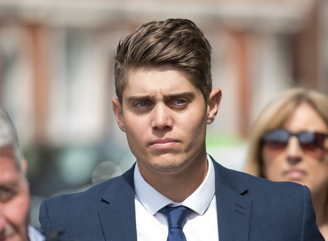 Alex Hepburn was jailed for raping a sleeping woman in his teammate's bedroom