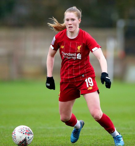 Amy Rodgers has had her contract extended at Liverpool