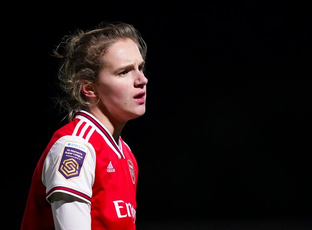 Arsenal's Vivianne Miedema has been nominated for player of the season