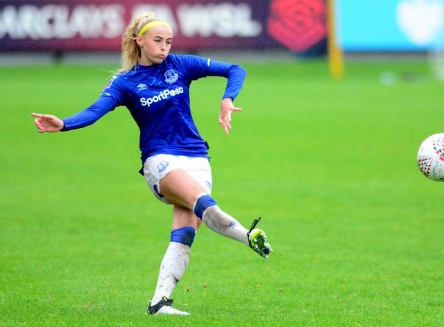 Chloe Kelly scored nine goals in 12 league appearances in 2019-20