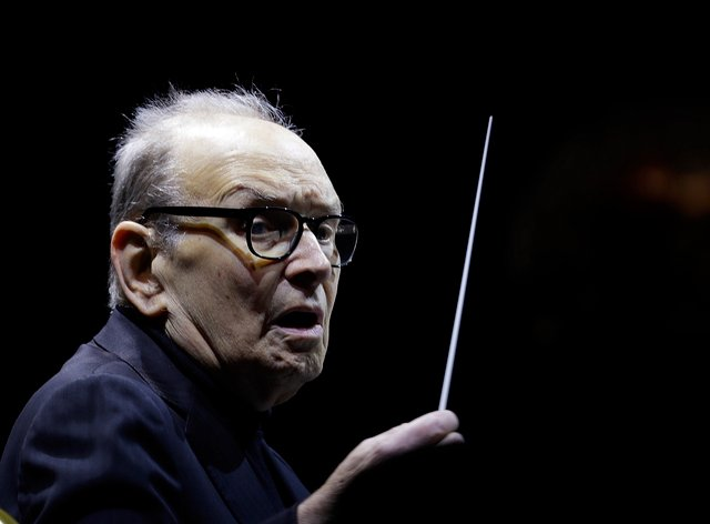 Ennio Morricone died in hospital on Monday