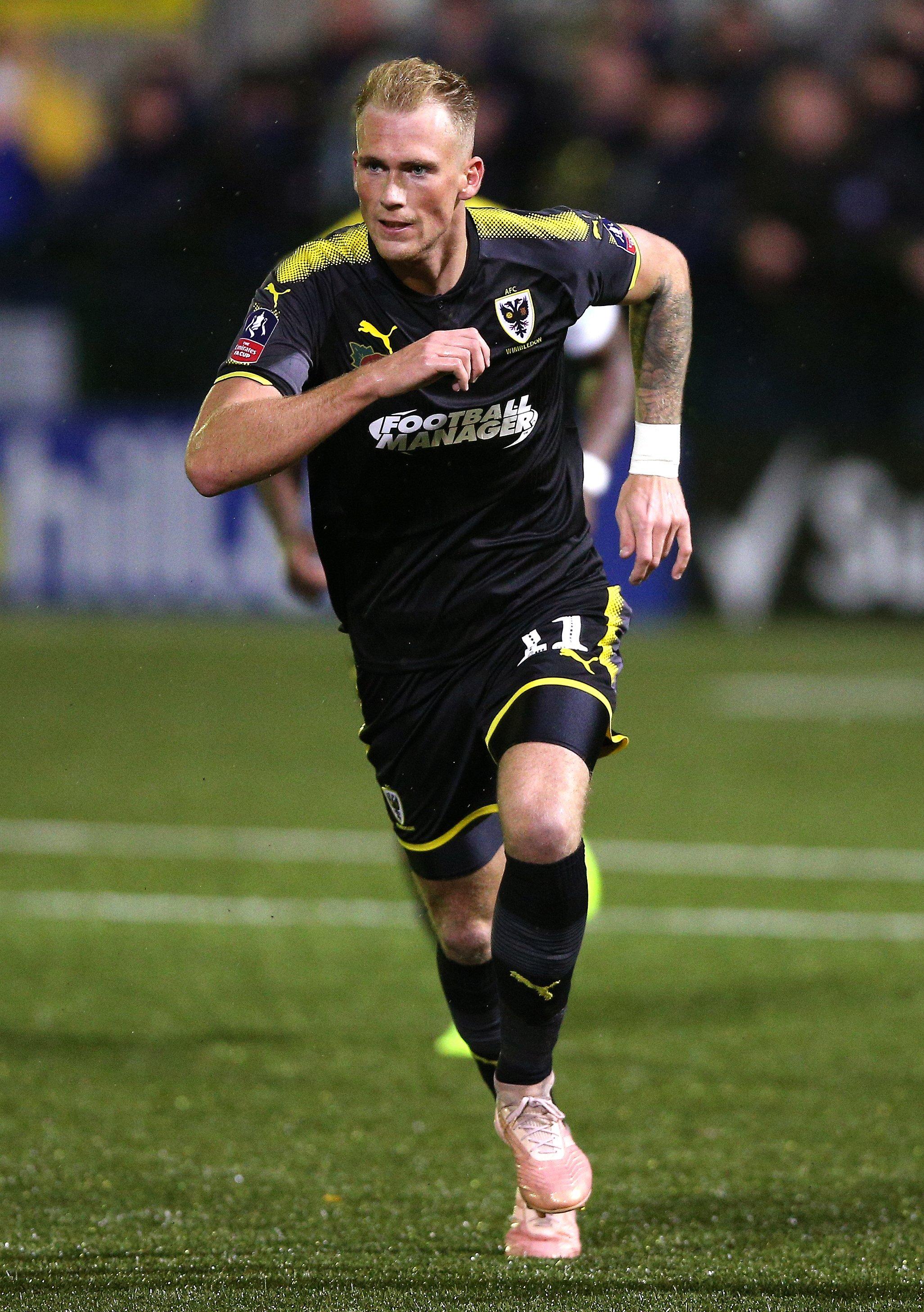 Kilmarnock sign Mitch Pinnock
