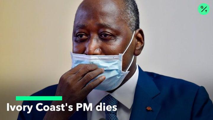 Ivory Coast's PM Dies